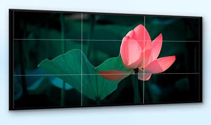 46寸三星液晶拼接屏-深圳华思特科技广告拼接屏解决方案服务商