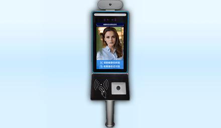 人脸测温健康码闸机-华思特科技