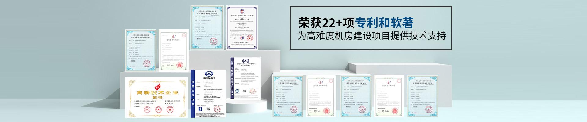 华思特-荣获22项专利和软著