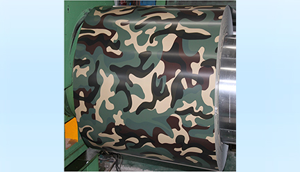迷彩彩涂钢板-WF-MC101