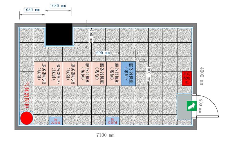 机房机柜规划图