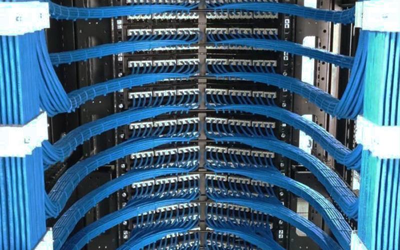 办公室弱电网络综合布线