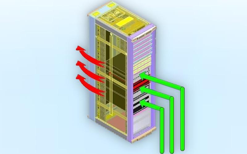 机房建设冷热通道系统