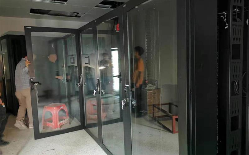 ▲裕民-银行机房建设-技术组装