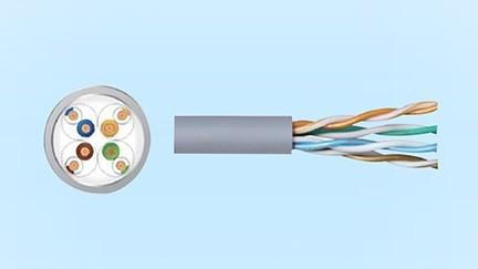 超五类非屏蔽铜缆