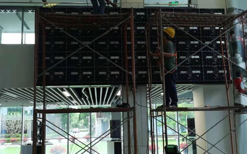 前海联合交易中心-LED高清显示屏项目 (1)